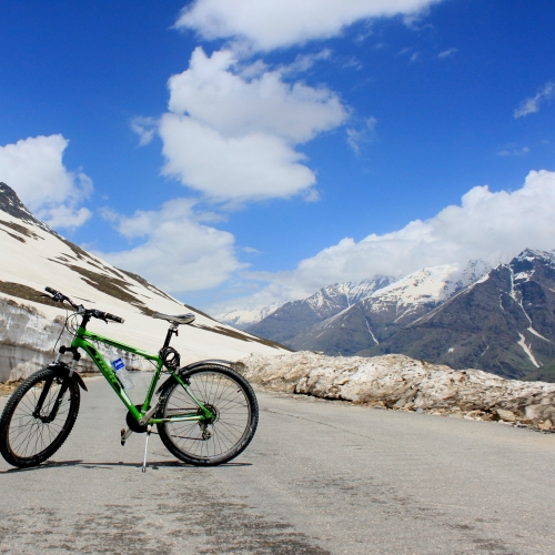 Hire a Bicycle In Ladakh